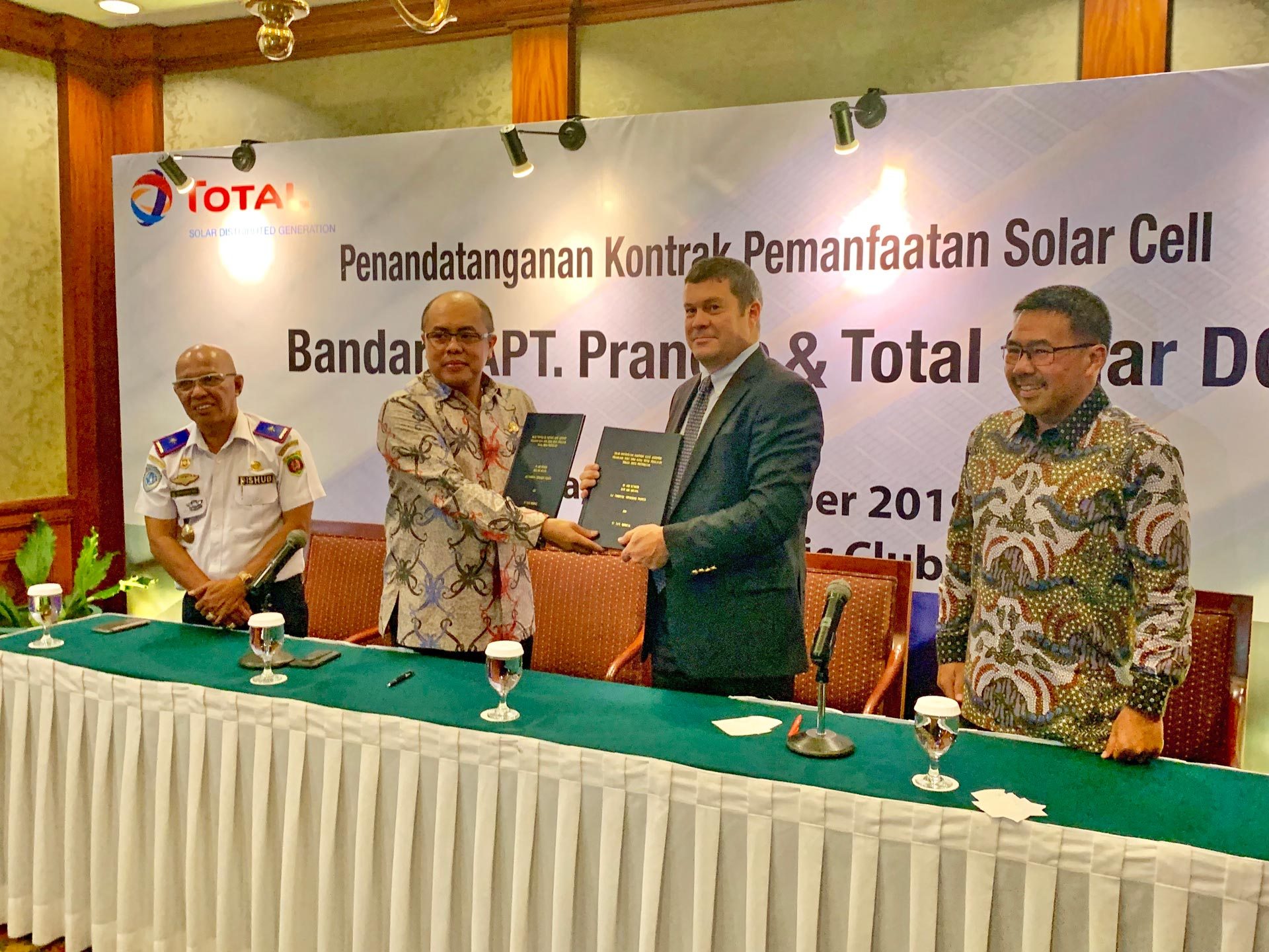 INDONESIA: TOTAL SOLAR DISTRIBUTED GENERATION TO SOLARIZE THE NEW AIRPORT OF THE FUTURE CAPITAL CITY
